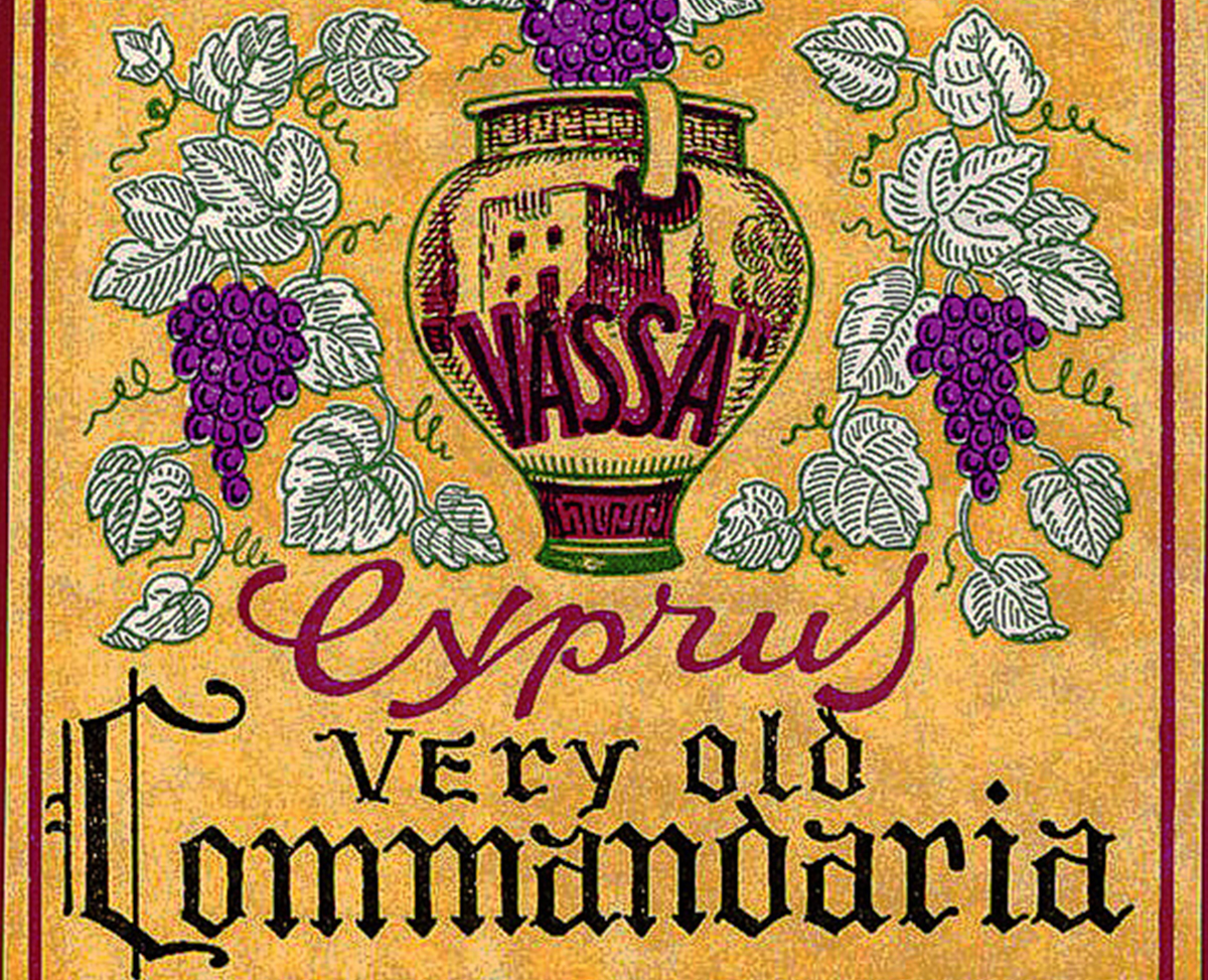 Old Commandaria Label