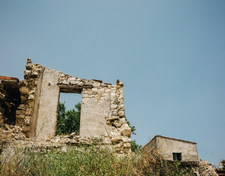St Fotios - Deserted Village